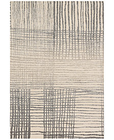 "Loloi Emory EB-05 Ivory/Grey 2'5""x7'7"" Runner Area Rug"