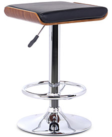 Java Bar Stool Chrome Finish, Quick Ship