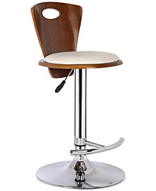 Seattle Bar Stool Chrome Finish, Quick Ship