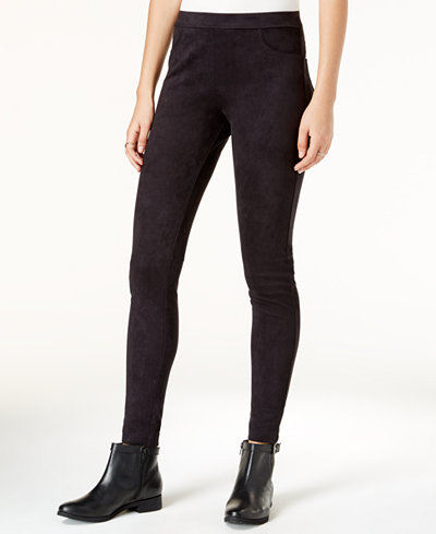 Sanctuary Faux-Suede Grease Leggings