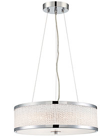 Lite Source Chrome Pendant Light