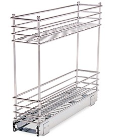 Chrome Glidez Narrow 5-Inch Sliding Organizer