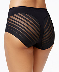 Leonisa Light Control Sheer-Panel Brief 012903