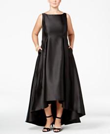 High Low Plus Size Dresses - Macy\'s