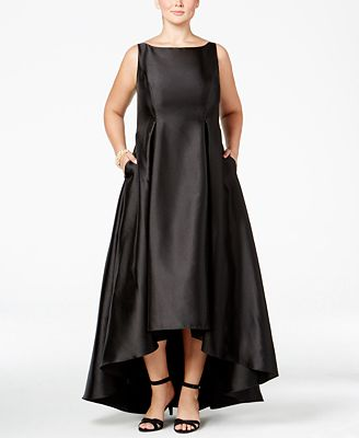 Adrianna Papell Plus Size High Low Ball Gown Dresses Women Macys