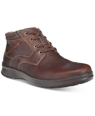 Clarks Men's Cotrell Rise Plain-Toe Casual Chukka Boots