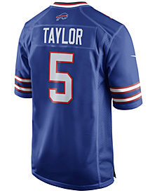 Nike Men's Tyrod Taylor Buffalo Bills Game Jersey