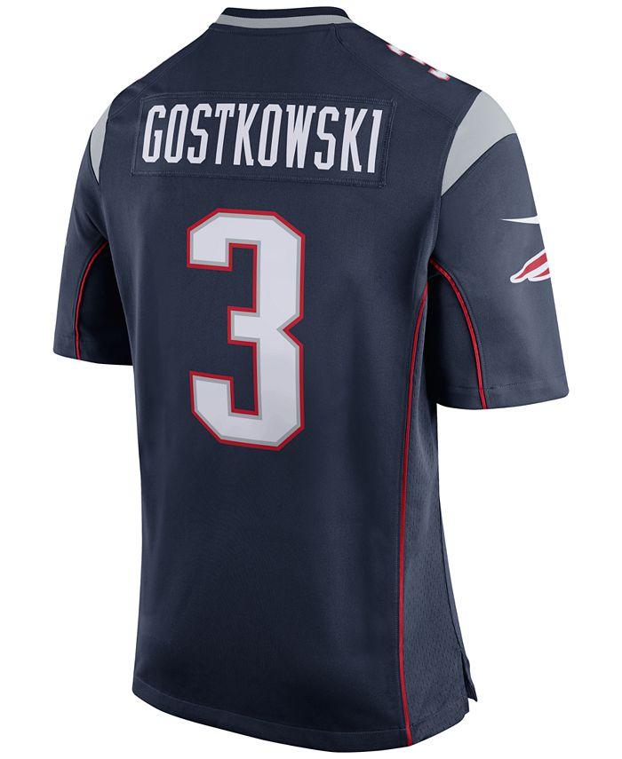 Nike Men's Stephen Gostkowski New England Patriots Game Jersey ...