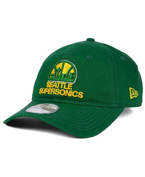 New Era Seattle SuperSonics HWC Relaxed 9TWENTY Cap