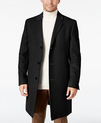 Lauren Ralph Lauren Men's Luther Cashmere-Blend Overcoat - Coats ...