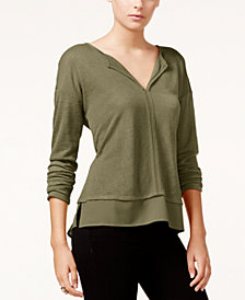 Sanctuary Layered-Look Top