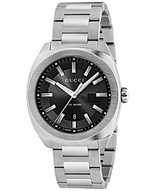 Men's GG2570 Swiss Stainless Steel Bracelet Watch 41mm YA142301