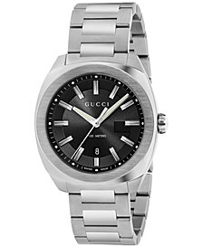 Gucci Men's GG2570 Swiss Stainless Steel Bracelet Watch 41mm YA142301