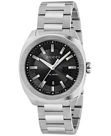 Gucci Men's GG2570 Swiss Stainless Steel Bracelet Watch 41mm YA142301