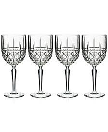 Marquis by Waterford Brady 4-Pc. Wine Glass Set