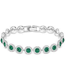 Swarovski Crystal Halo Link Bracelet