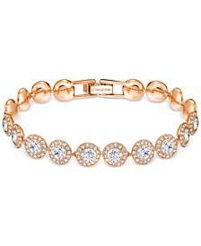 Crystal Halo Link Bracelet