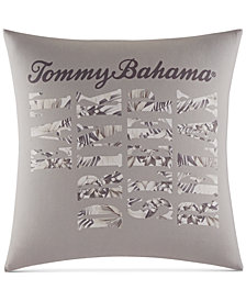 "Tommy Bahama Home Sandy Coast Graphic-Print 18"" Decorative Pillow"