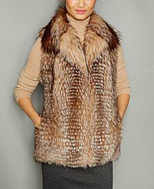 The Fur Vault Fox Fur Vest