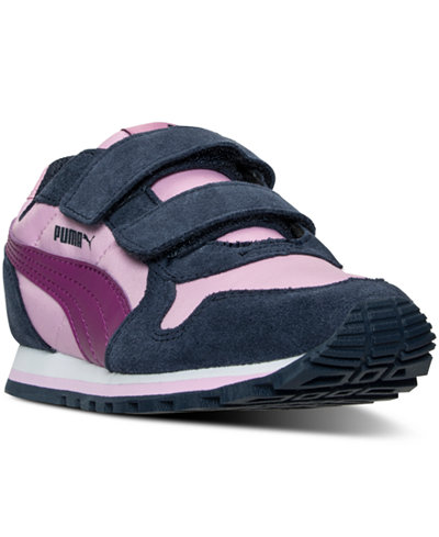 Puma Little Girls' ST Runner Casual Sneakers from Finish Line