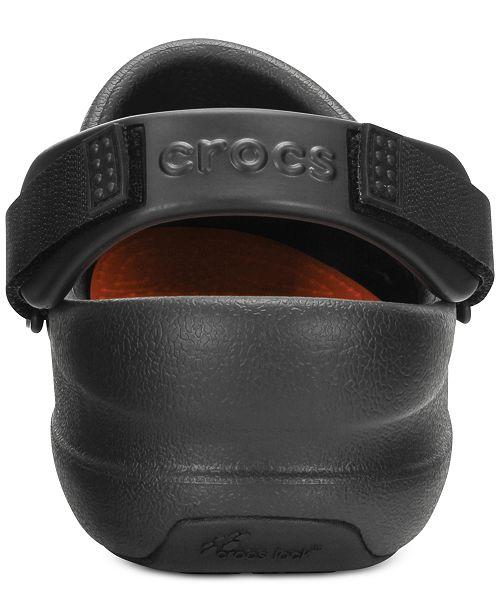 Crocs Men's Bistro Pro Clogs - All Men's Shoes - Men - Macy's on kitchen cat, kitchen shoes, kitchen clogs,
