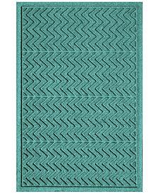 Bungalow Flooring Water Guard Chevron Doormat