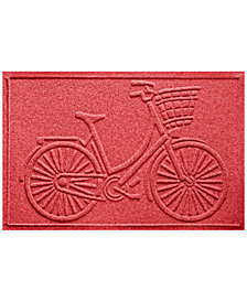 Bungalow Flooring Water Guard Nantucket Bicycle 2'x3' Doormat