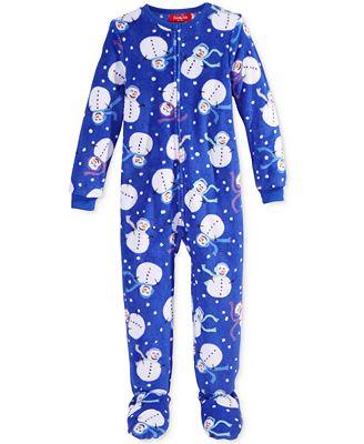 Footed Pajamas Juniors Breeze Clothing