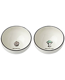 kate spade new york Cause A Stir 2-Pc. Dessert Bowl Set