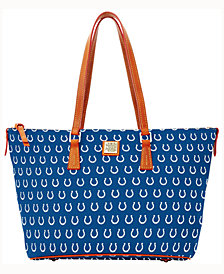 Dooney & Bourke Indianapolis Colts Zip Top Shopper