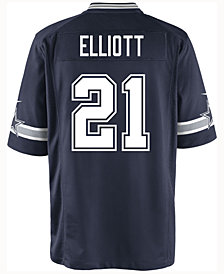 Nike Ezekiel Elliott Dallas Cowboys Game Jersey, Big Boys (8-20)