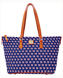 Dooney & Bourke New York Giants Zip Top Shopper