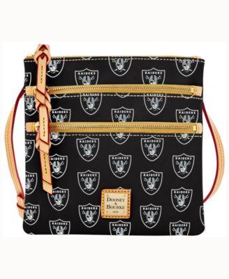 Oakland Raiders Triple-Zip Crossbody Bag