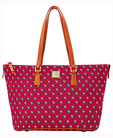 Dooney & Bourke Zip Top Shopper NFL Collection