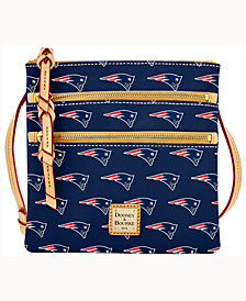 Dooney & Bourke New England Patriots Dooney & Bourke Triple-Zip Crossbody Bag