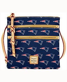 Dooney & Bourke Triple-Zip Crossbody Bag NFL Collection