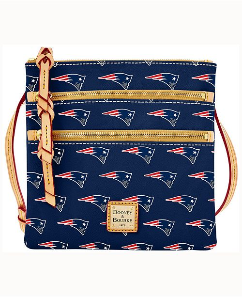 The Dooney Bourke Nfl Collection Triple Zip Crossbody Bag Is A Great Complement To Your Busy Lifestyle Contemporary Style Versatile For