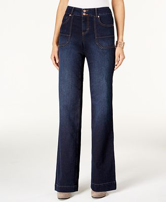 Style & Co Petite Jewel Wash Trouser Jeans, Only at Macy's - Jeans ...