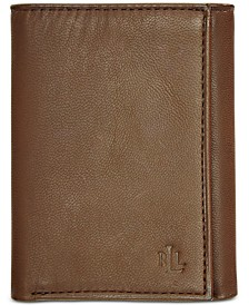 Lauren by Ralph Lauren Burnished Leather Trifold Wallet