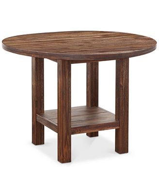 Round Dining Table avondale round dining table - furniture - macy's