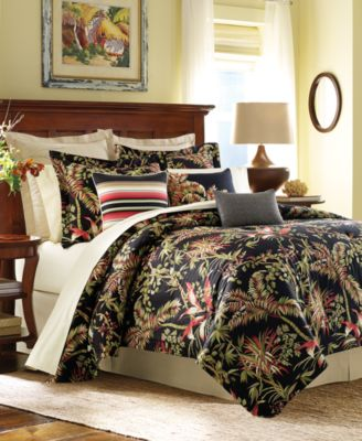 Tommy Bahama Jungle Drive Floral Print King 4 Pc. Comforter Set