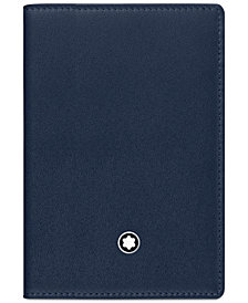 Montblanc Meisterstück Navy Business Card Holder 114554