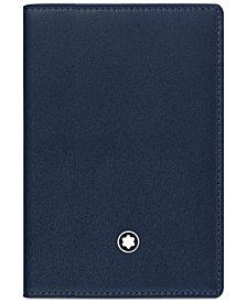 Montblanc Meisterstück Navy Business Card Holder 114554