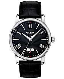 Men's Swiss Automatic 4810 Black Alligator Leather Strap Watch 42mm 115122
