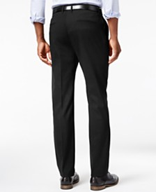 Kenneth Cole Reaction Men's Stretch Athleisure Slim-Fit Dress Pants