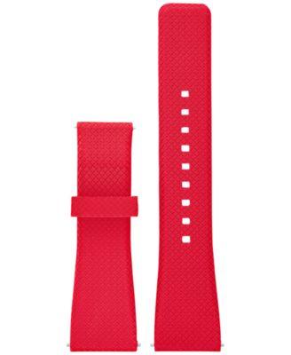 Access Women's Bradshaw Red Silicone Smartwatch Strap MKT9003