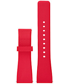 Michael Kors Access Women's Bradshaw Red Silicone Smartwatch Strap MKT9003