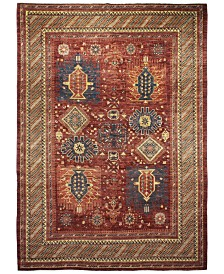 Macys Fine Rug Gallery One Of A Kind B594704 Pak Tribal Rust 8