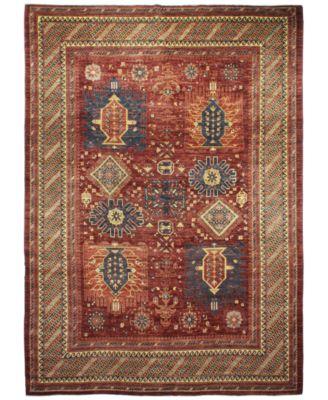 Lovely Macyu0027s Fine Rug Gallery, One Of A Kind, B594704 Pak Tribal Rust 8u0027
