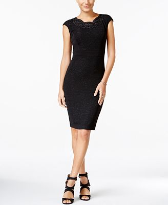 JAX Shimmer Sheath Dress
